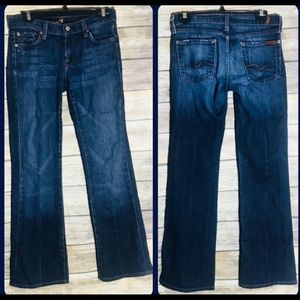 7 For All Mankind bootcut jeans 27 x 29